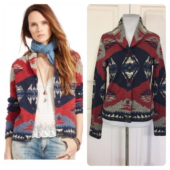 523bc2864 Denim   Supply Ralph Lauren Sweaters - Ralph Lauren DENIM   SUPPLY Shawl  Cardigan Sweater